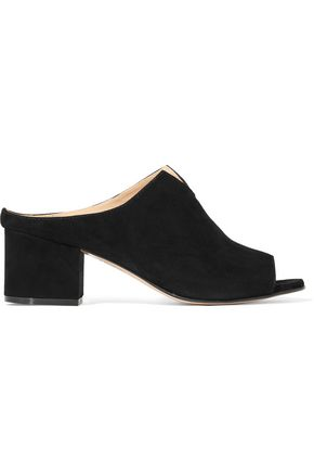 IRIS AND INK Sandalo nubuck mules