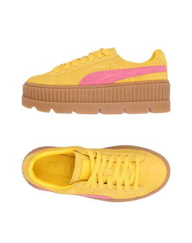 Фото - Низкие кеды и кроссовки от FENTY PUMA by RIHANNA желтого цвета