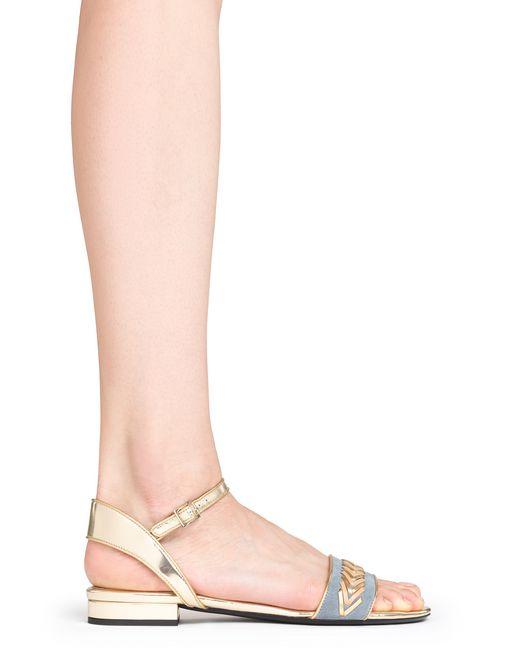 lanvin woven sandal women