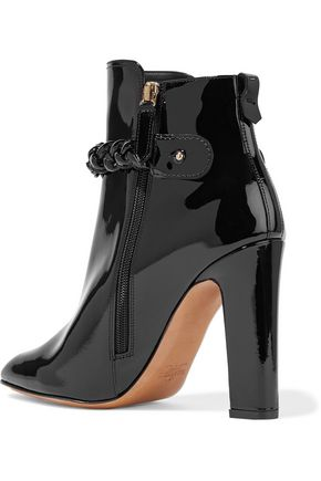 VALENTINO Patent-leather ankle boots