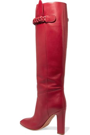 VALENTINO GARAVANI Leather knee boots