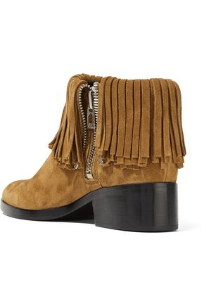 3.1 PHILLIP LIM Alexa fringed suede ankle boots
