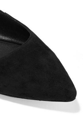 SIGERSON MORRISON Viata lace-up leather flats