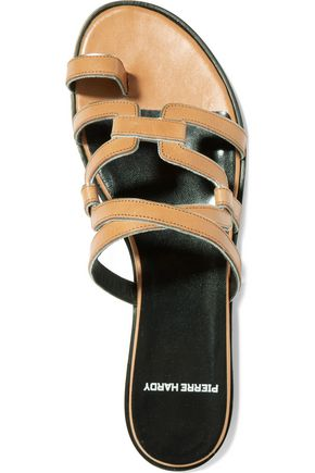 PIERRE HARDY Kaliste leather sandals