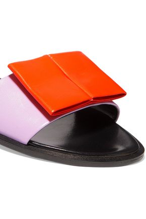 PIERRE HARDY Obi leather slides