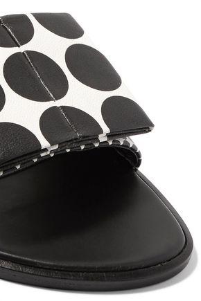 PIERRE HARDY Obi leather slides