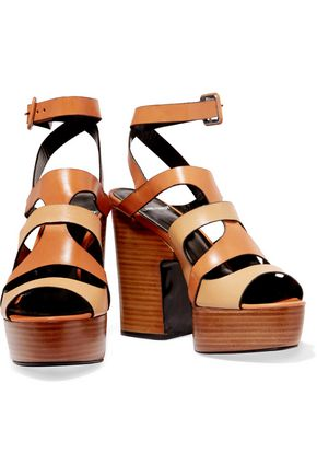 PIERRE HARDY Fletwood leather platform sandals