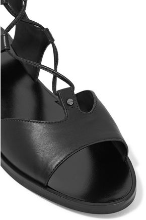VINCE. Niva lace-up leather sandals
