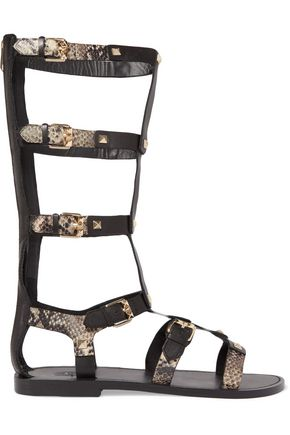 ASH Mykonos studded leather sandals
