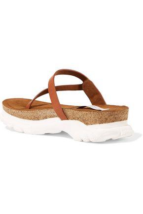 STELLA McCARTNEY Faux leather platform sandals