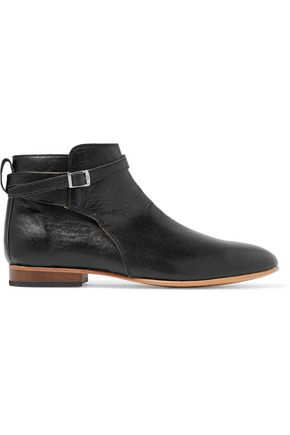 DIEPPA RESTREPO Mer leather ankle boots