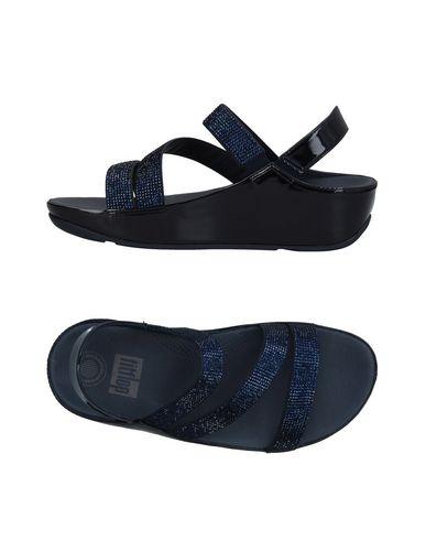 Фото - Женские сандали FITFLOP темно-синего цвета