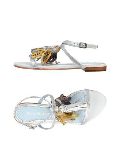 Фото - Женские сандали NOA HARMON серебристого цвета