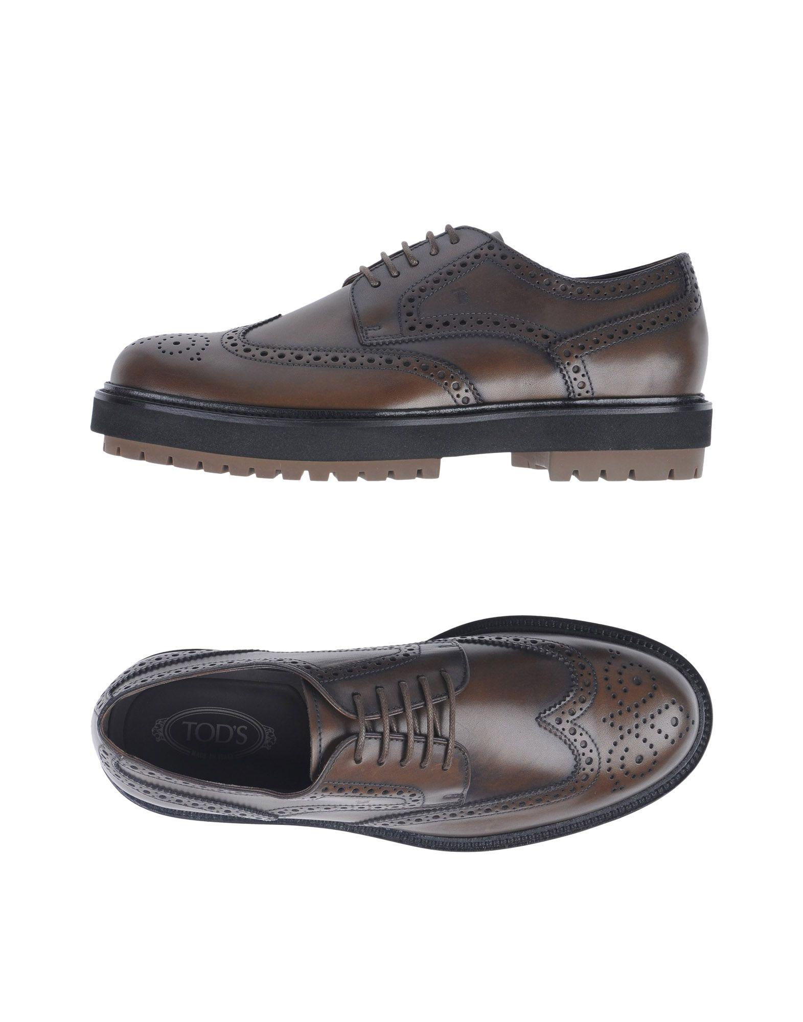 TOD'S Обувь на шнурках обувь shoiberg