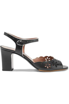 TABITHA SIMMONS Emily perforated and laser-cut leather sandals