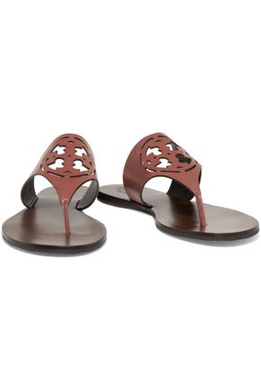 TORY BURCH Zoey perforated leather sandals