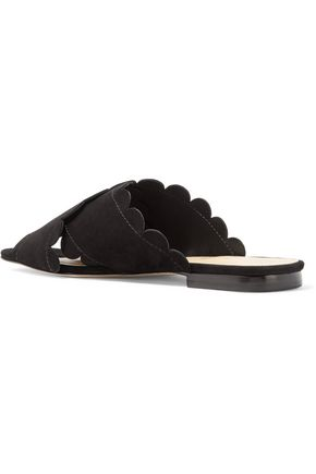 ISA TAPIA Ana Maria suede sandals