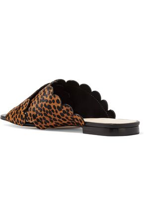 ISA TAPIA Ana Maria printed calf hair sandals