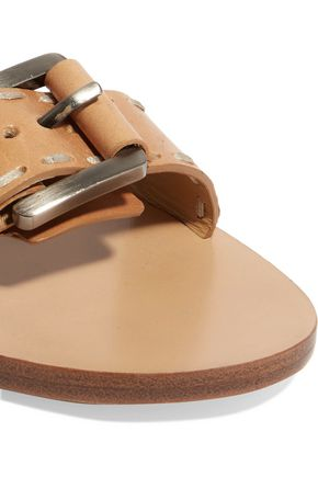 MICHAEL KORS Shari stitched leather sandals