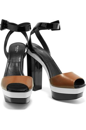 MICHAEL KORS COLLECTION Evangeline leather sandals