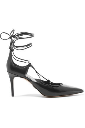 MICHAEL KORS COLLECTION Gabby lace-up leather pumps