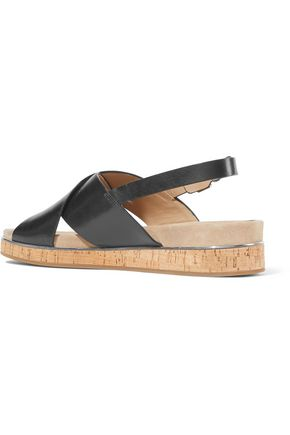 MICHAEL KORS COLLECTION Hallie leather sandals