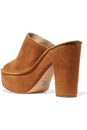MICHAEL KORS COLLECTION Elsa suede platform sandals