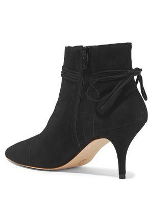 LOEFFLER RANDALL Tasseled suede ankle boots