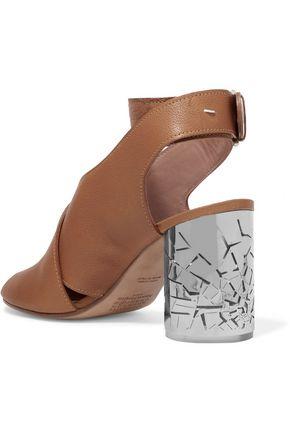 MAISON MARGIELA Textured-leather sandals