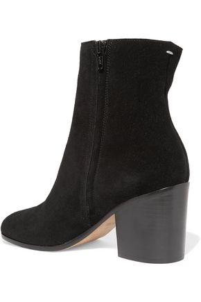 MAISON MARGIELA Studded suede ankle boots