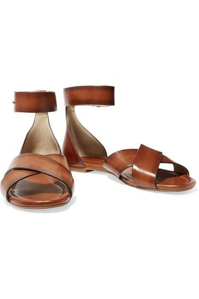 MICHAEL KORS COLLECTION Robbie leather sandals