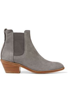 RAG & BONE Dixon brushed-suede ankle boots