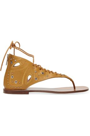 IRO Cutout studded leather sandals
