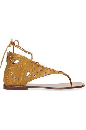 IRO Cutout studded leather sandals