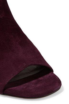 RAG & BONE Genoa cutout buckled suede sandals