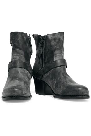 RAG & BONE Harper distressed leather ankle boots