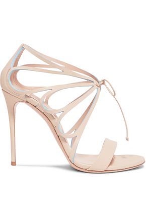 CASADEI Vittoriale cutout leather sandals