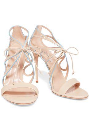 CASADEI Vittoriale cutout leather sandals