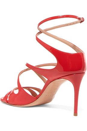 CASADEI Patent-leather sandals