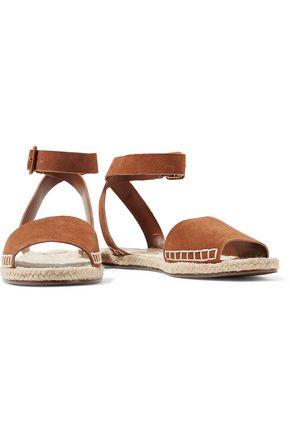 SCHUTZ Goldi suede espadrille sandal