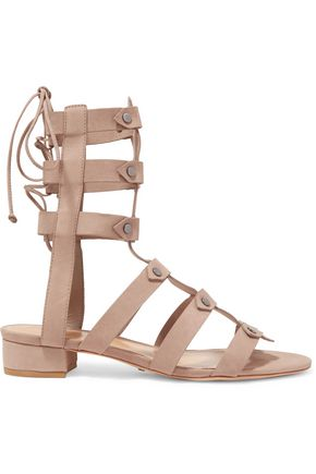 SCHUTZ Rae nubuck gladiator sandals