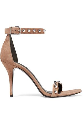 ALEXANDER WANG Antonia studded suede sandals