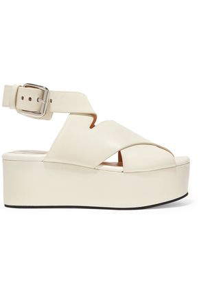 ALEXANDER WANG Rudy leather platform sandals