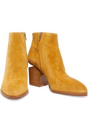 ALEXANDER WANG Gabi cutout suede ankle boots