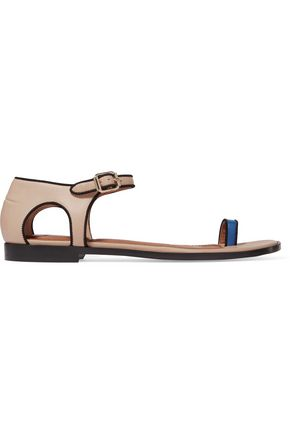 GIVENCHY Cutout leather sandals
