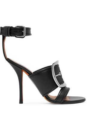 GIVENCHY Buckled leather sandals