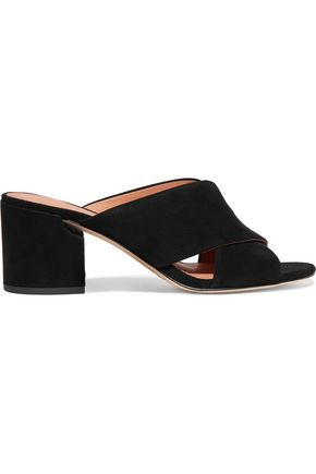 SIGERSON MORRISON Rhoda suede mules