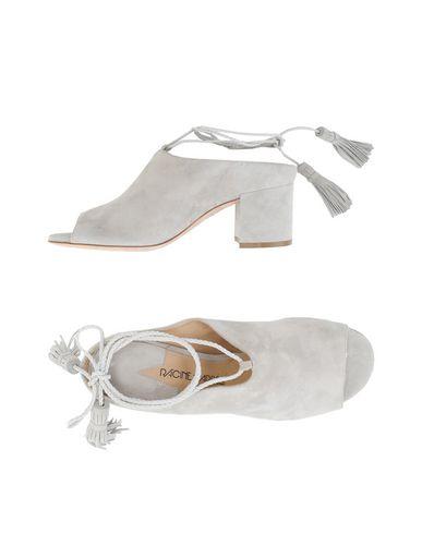 Фото - Женские сандали RACINE CARRÉE светло-серого цвета