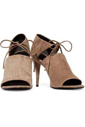 ALEXANDER WANG Ellen cutout suede sandals