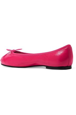 FRENCH SOLE Henrietta leather ballet flats